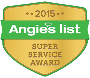 We Care Earned the Angie's List 2015 Super Service Award!