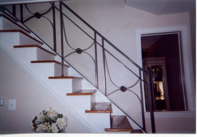 Category: Iron / Iron Interior / Railings U2014